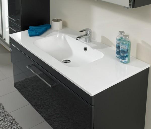 Pelipal 378 Seo Grey - Waschtisch mit Unterschrank 77 cm