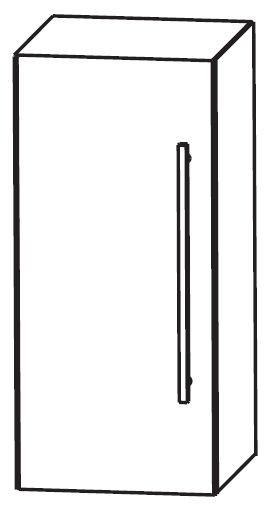 Puris Linea Bad-Oberschrank 30 cm breit OGA4130