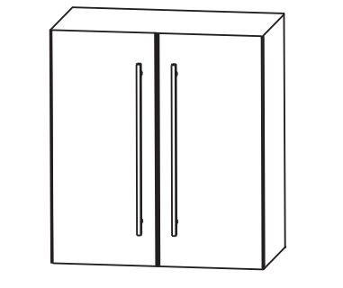 Puris Kao Line Bad-Oberschrank 60 cm breit OGA4160
