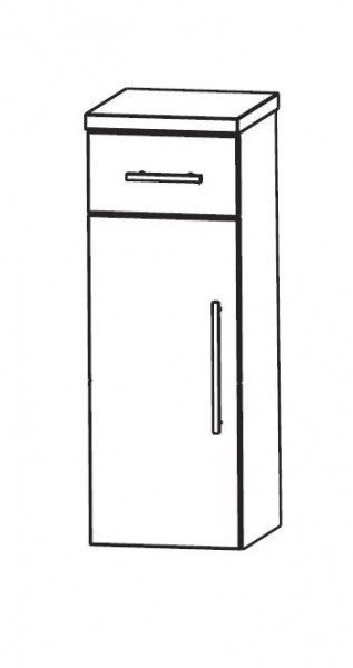 Puris Speed Bad-Highboard 30 cm breit HBA553A