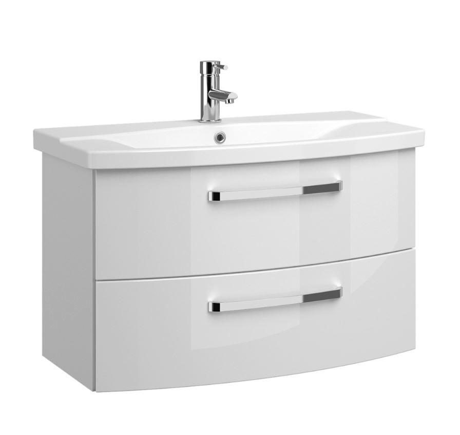 pelipal fokus 4010 waschtisch mit unterschrank 80 cm breit badm bel 1. Black Bedroom Furniture Sets. Home Design Ideas