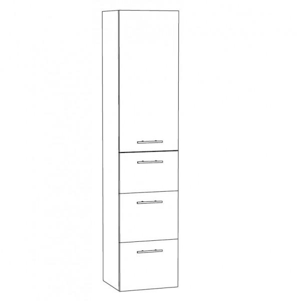 Marlin Bad 3030 - Christall Bad-Hochschrank 40 cm breit HTAAA4