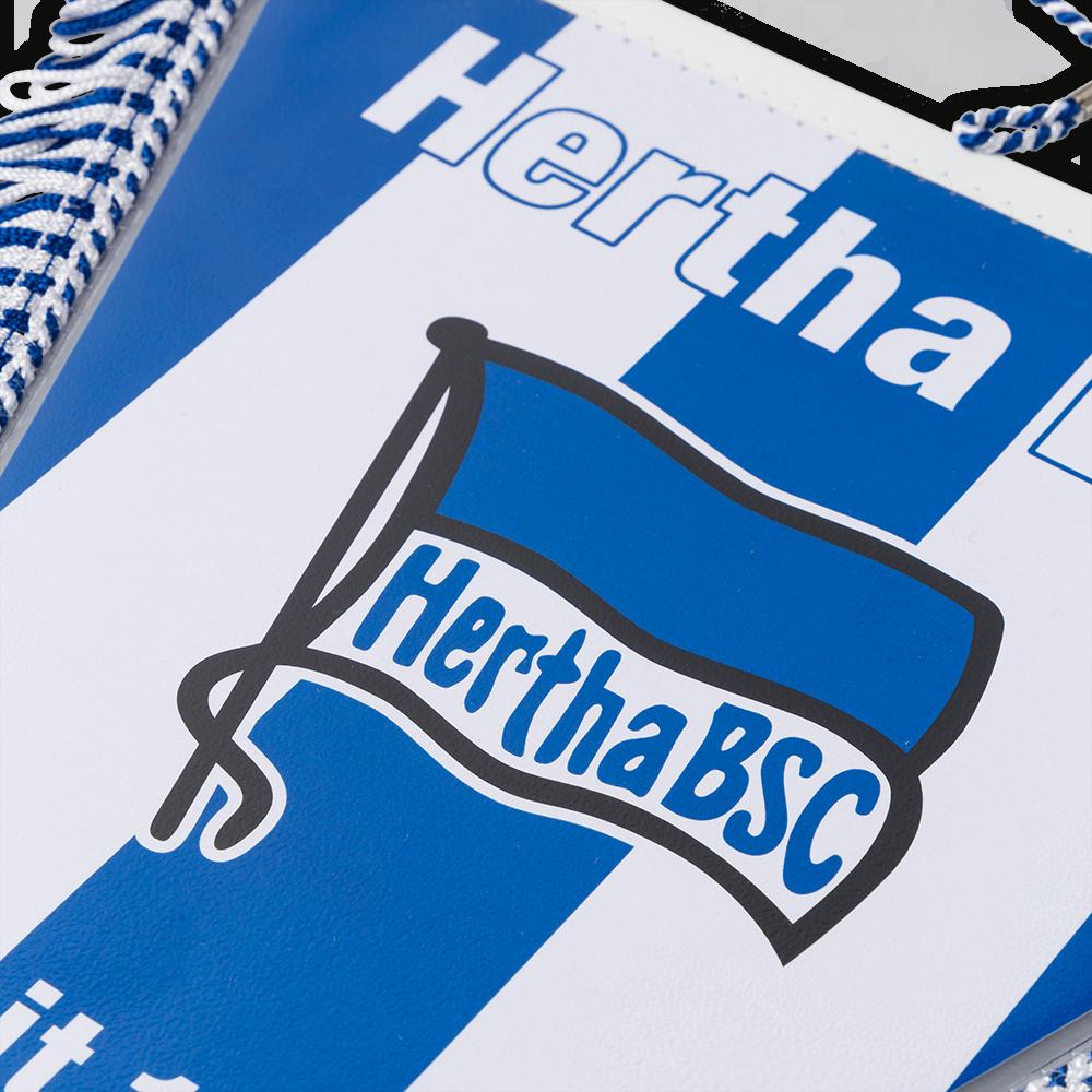 Hertha BSC Autobanner Wimpel Banner blau-Weiss