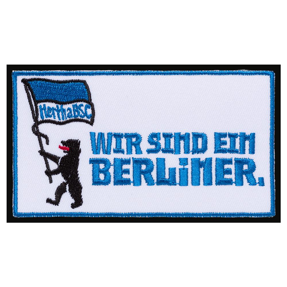 Aufnäher Wir sind ein Berliner