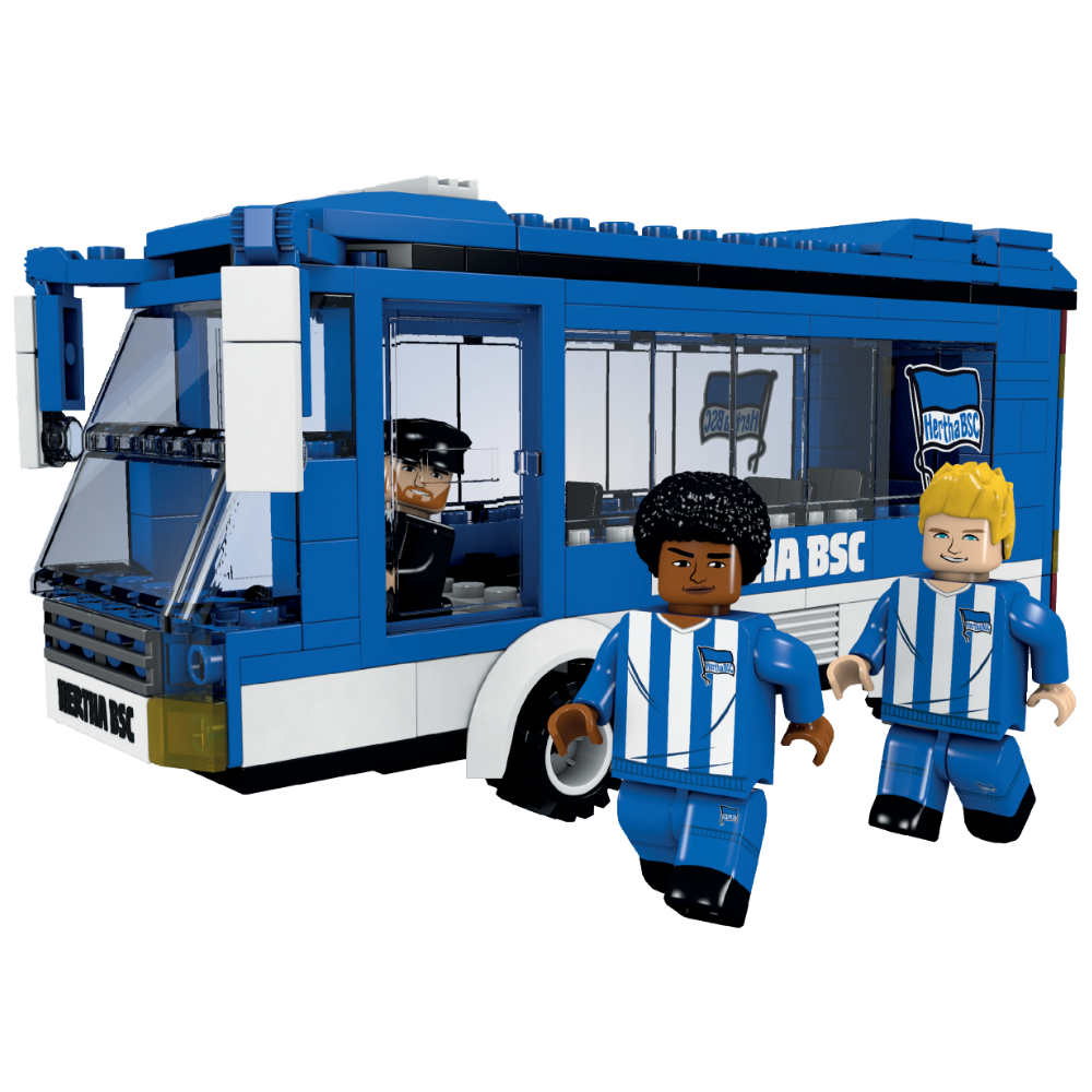 Hertha BSC team bus