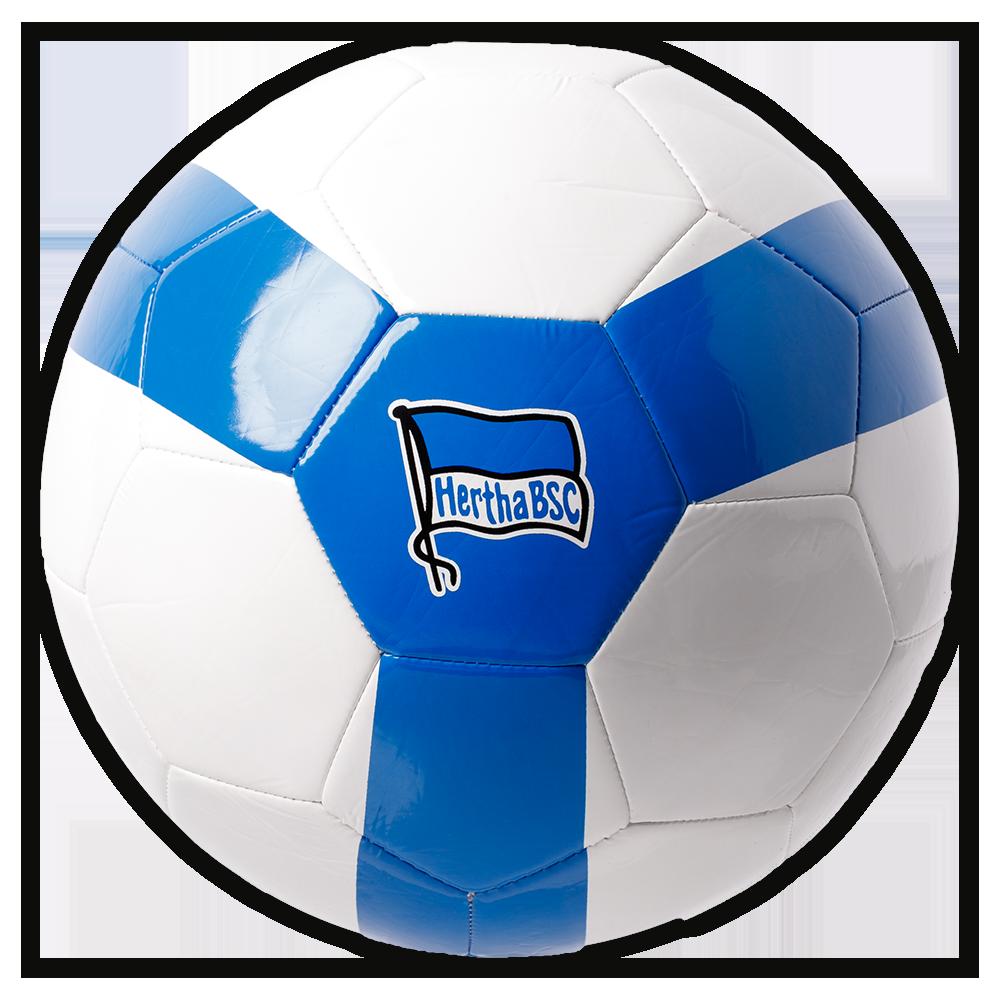 Ball Hertha BSC Fairtrade Gr. 5