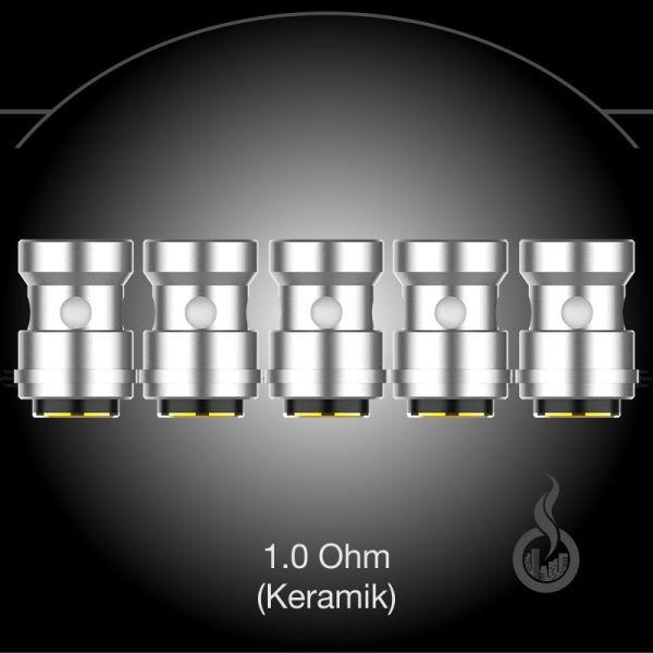 EUC CCELL Leramik Coils 1.0 Ohm