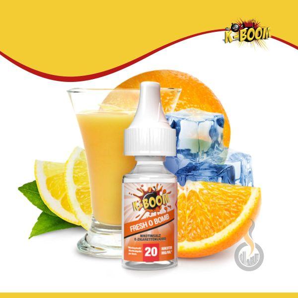 K-BOOM Fresh O Bomb Nikotinsalz Liquid - 10 ml
