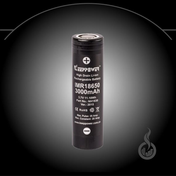 Keeppower IMR18650 3000 mAh - 20 A