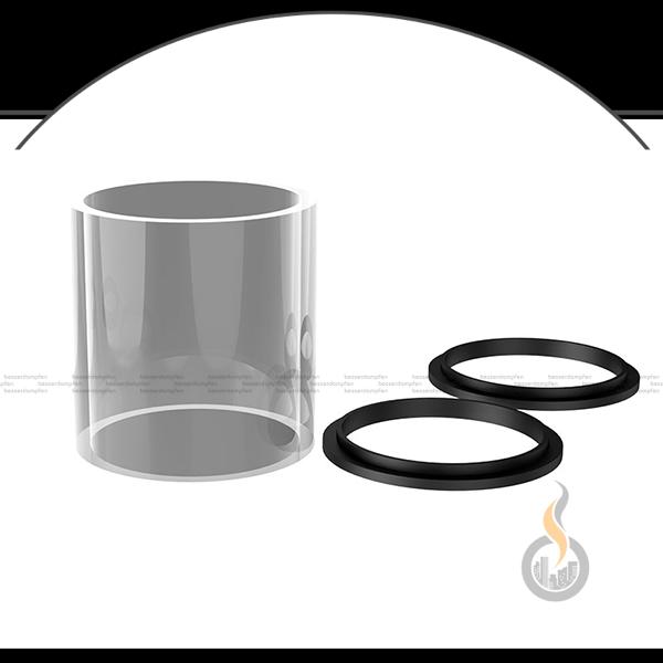 eXvape eXpromizer TCX RDTA Ersatzglastank - 7 ml