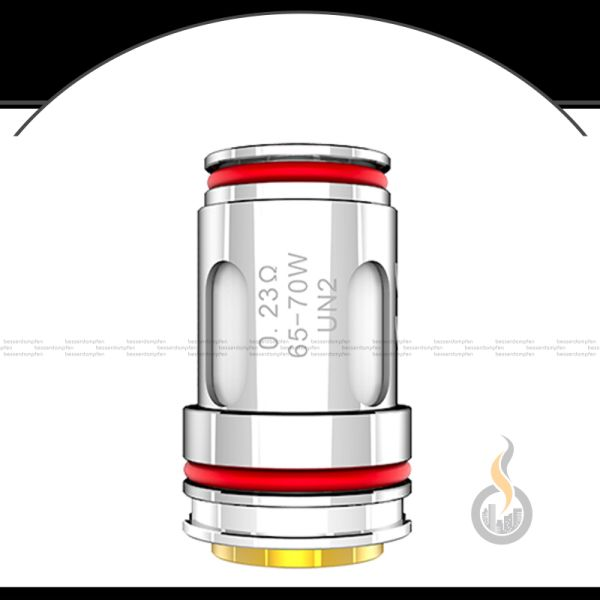 4x UWELL Crown 5 UN2 Meshed-H Coil - 0.23 Ohm