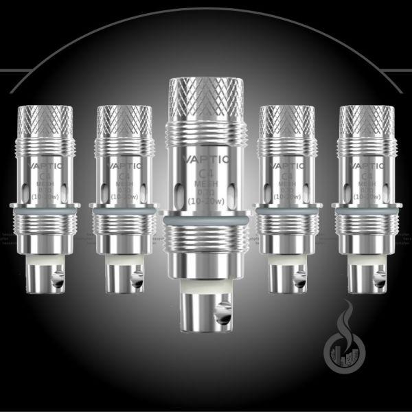 5x Vaptio Cosmo C4 Nautilus Mesh Coils - 0.7 Ohm