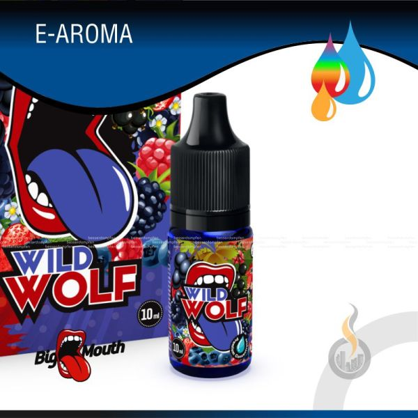 BIG MOUTH Wild Wolf Aroma - 10 ml