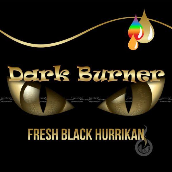 DARK BURNER Fresh Black Hurrikan Aroma - 10 ml