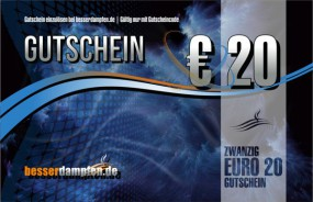 20,- EURO Gutschein-Card