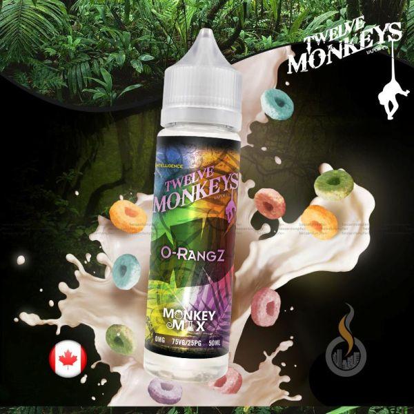 TWELVE MONKEYS O-Rangz DIY Liquid