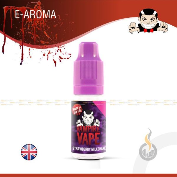 E-Aroma VAMPIRE VAPE Strawberry Milkshake