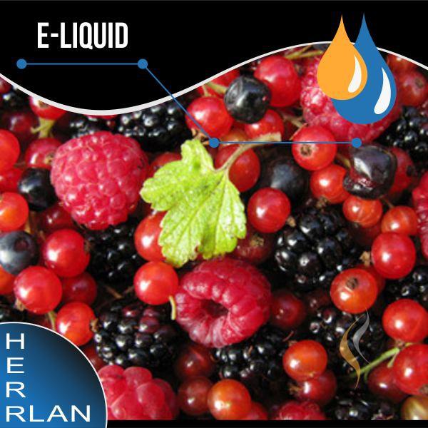HERRLAN Waldfrüchte (rot) Liquid