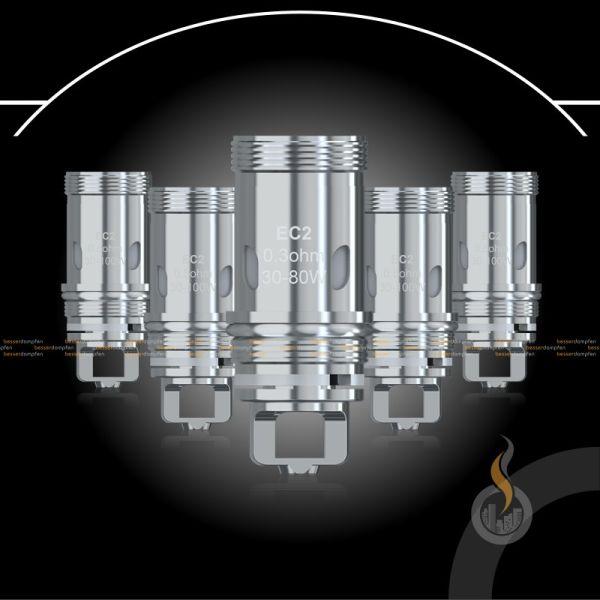 5x Eleaf MELO 4 EC2 Ersatz Coils - 0.3 Ohm