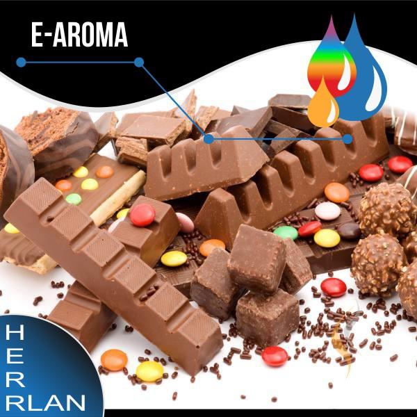 HERRLAN Schokolade-Vollmilch Aroma - 10ml