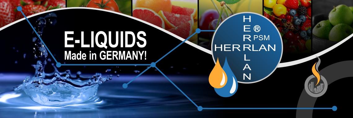 Herrlan E-Liquids, E-Aromen, E-Basen