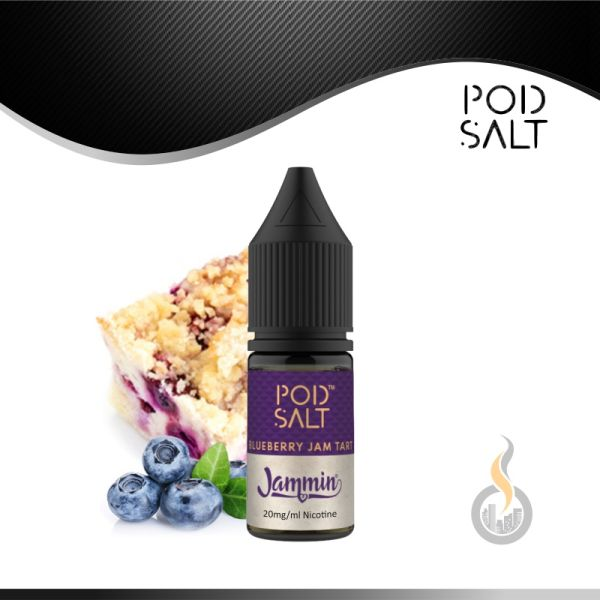 Pod Salt Blueberry Jam Tart