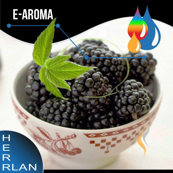 HERRLAN Brombeere Aroma - 10ml