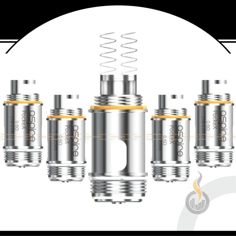 Aspire PockeX Ersatz Coils - 0.6 Ohm