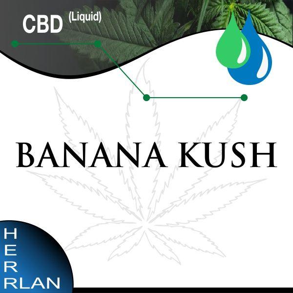 Herrlan CBD Banana Kush Liquid