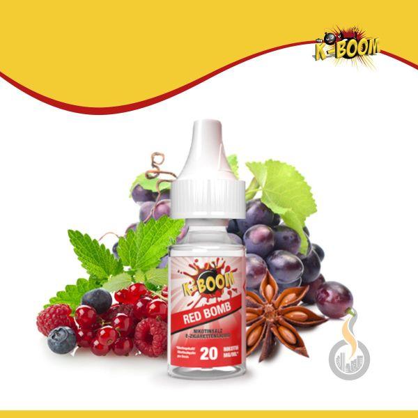 K-BOOM Red Bomb Nikotinsalz Liquid - 10 ml