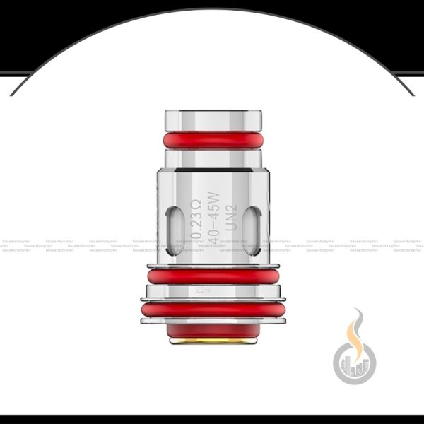 4x UWELL Aeglos UN2 Meshed-H Coil Verdampferkopf - 0.23 Ohm