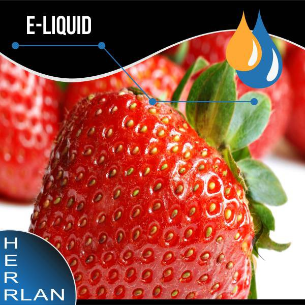 HERRLAN Erdbeere Liquid
