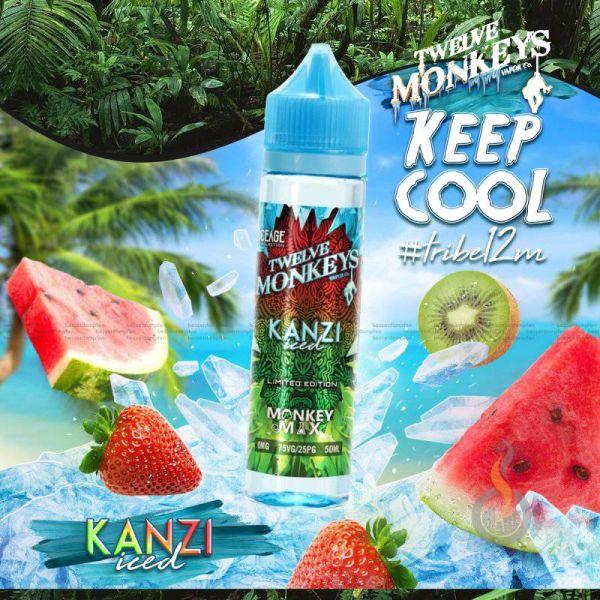 TWELVE MONKEYS ICEAGE Kanzi Iced Liquid