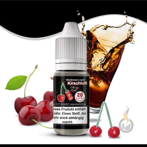 KIRSCHLOLLI Cherry Cola Nikotinsalz Liquid - 10ml