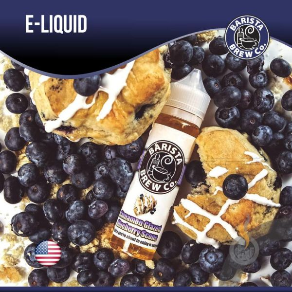 Cinnamon Glazed Blueberry Scone DIY Liquid