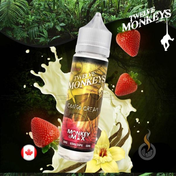 TWELVE MONKEYS Congo Cream DIY Liquid