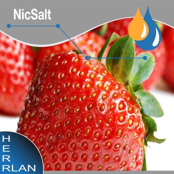 Herrlan NicSalt Liquid Erdbeere