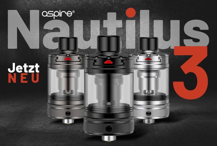 aspire Nautilus 3 (Drei) Verdampfer kaufen