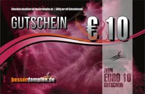 10,- EURO Gutschein-Card
