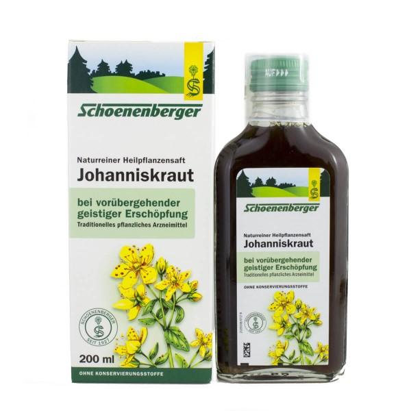 Johanniskraut Pflanzensaft