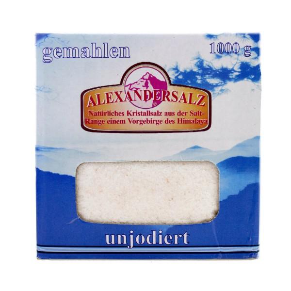Alexandersalz, fein gemahlen, 1kg