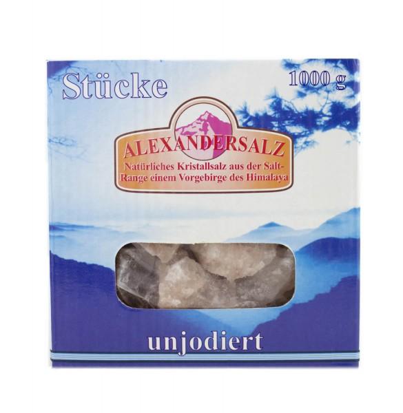 Alexandersalz, grobe Stücke, 1kg