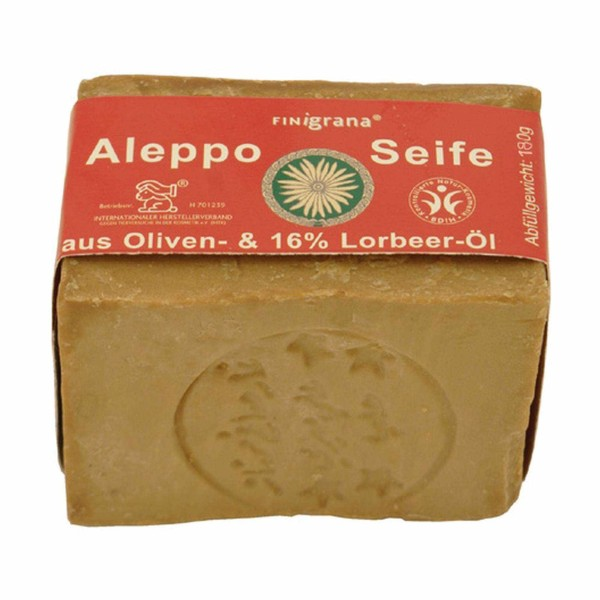 Aleppo Seife aus Oliven-& 16% Lorbeer-Öl