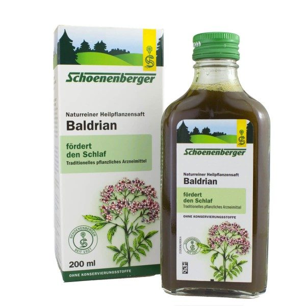 Baldrian Pflanzensaft