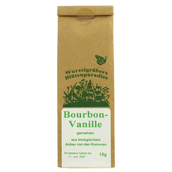 Vanille, Bourbon, gemahlen