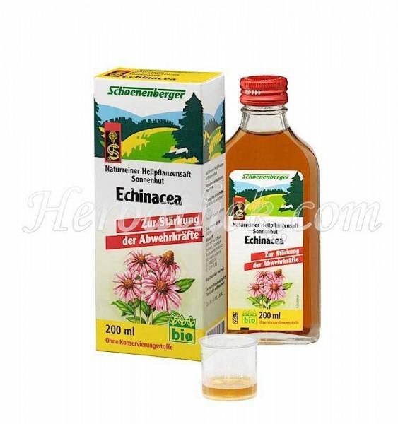 Echinacea Sonnenhut Heilpflanzensaft, 200 ml
