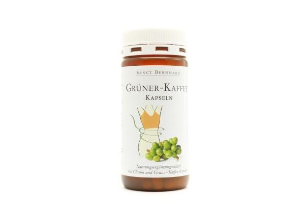 Grüner Kaffee, Kapseln + Chrom