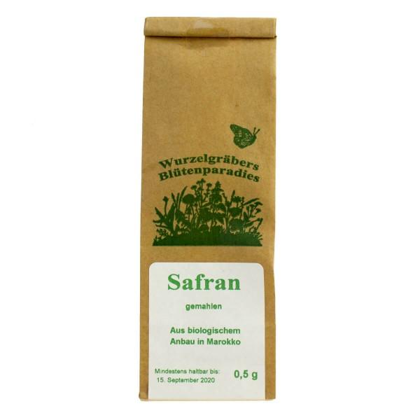 Safran, gemahlene Fäden