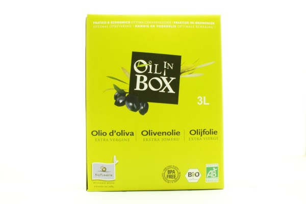 Olivenöl Oil in Box, 3l
