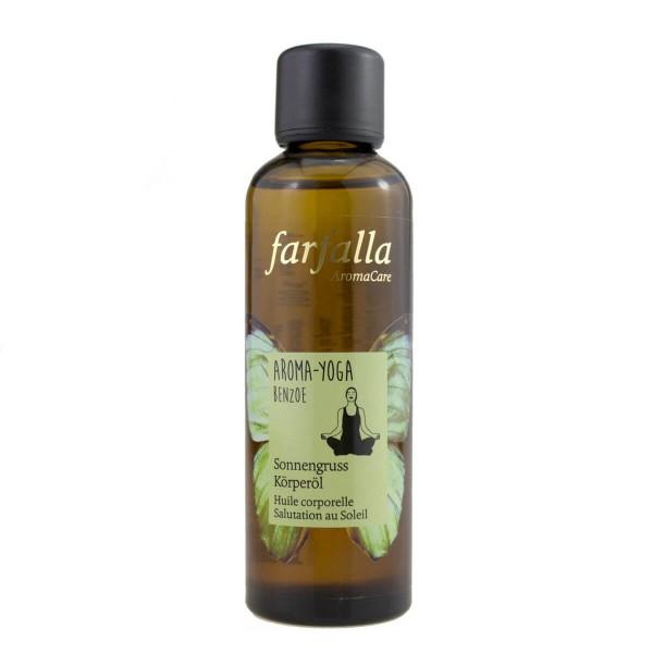 Aroma Yoga, benzoe, Sonnengruss, Körperöl